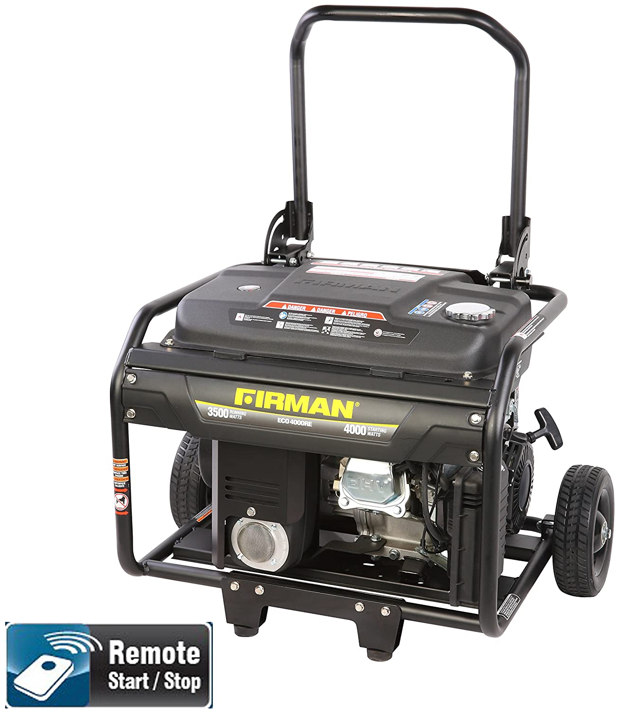 Amazon Firman Generators ECO4000RE 6 5 HP Remote Start Gas