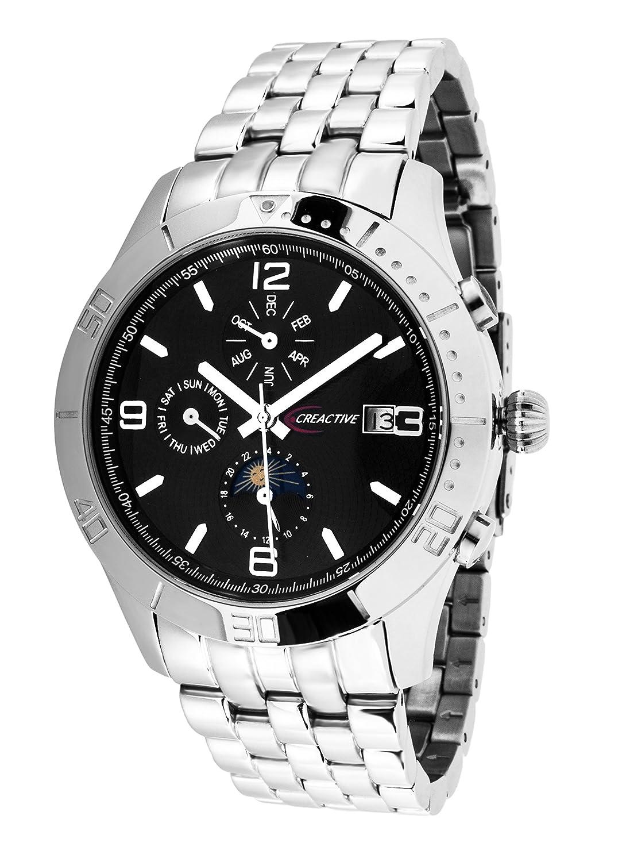 Creactive Herren-Armbanduhr Automatik Analog Edelstahl - CA120116