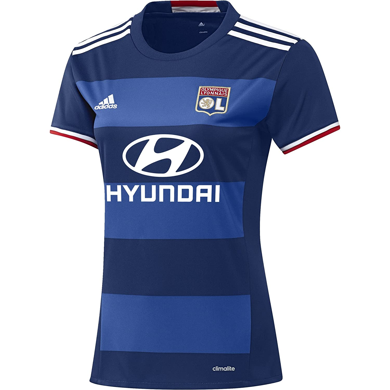 2ème Officiel T Femme Maillot Adidas Pour Shirt Olympique Lyonnais wlTikZXOPu