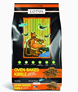 Lotus Grain-Free Oven Baked Duck Adult Cat Dry Food Recipe 11 Pounds