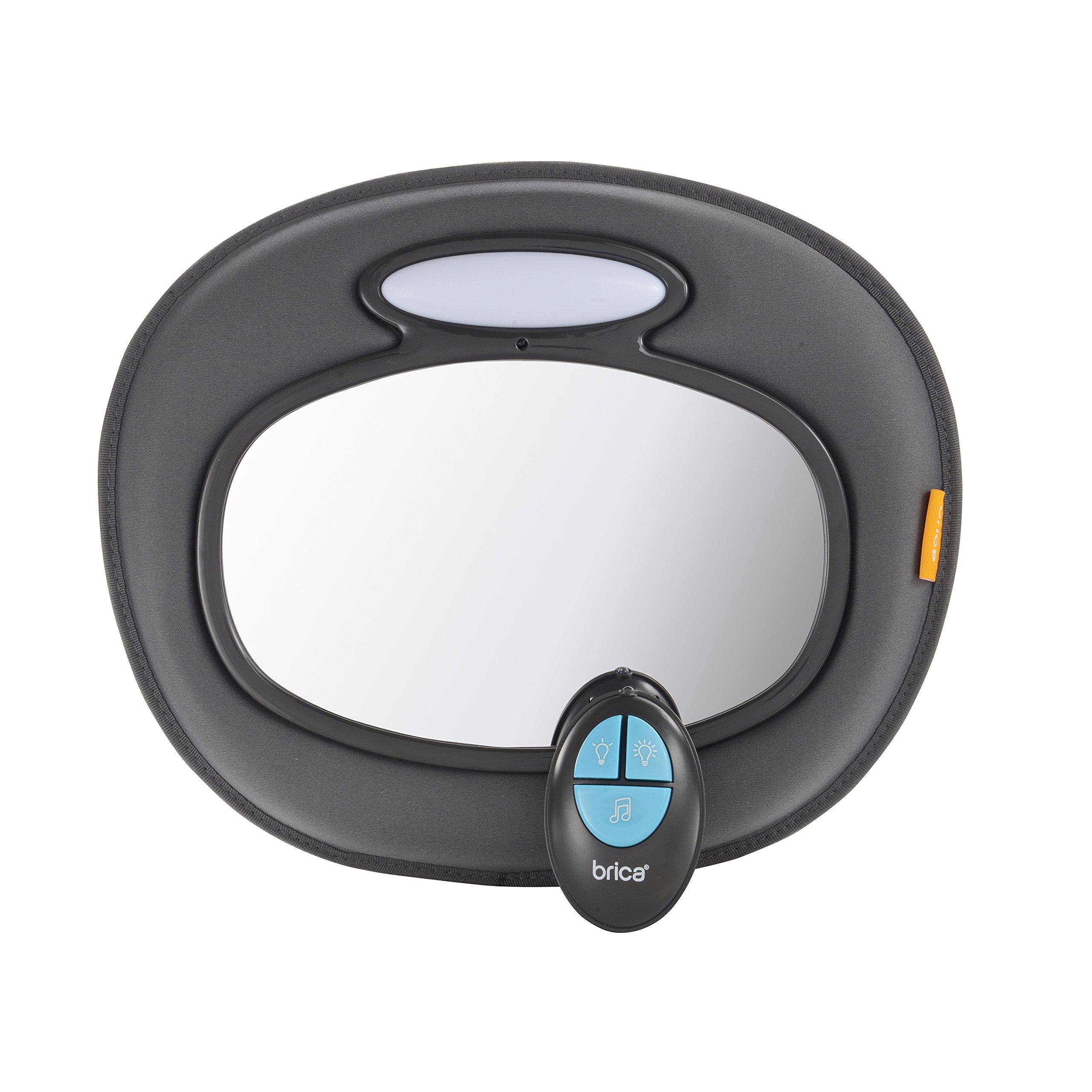 Brica Night Light Musical Baby In-Sight Car Mirror