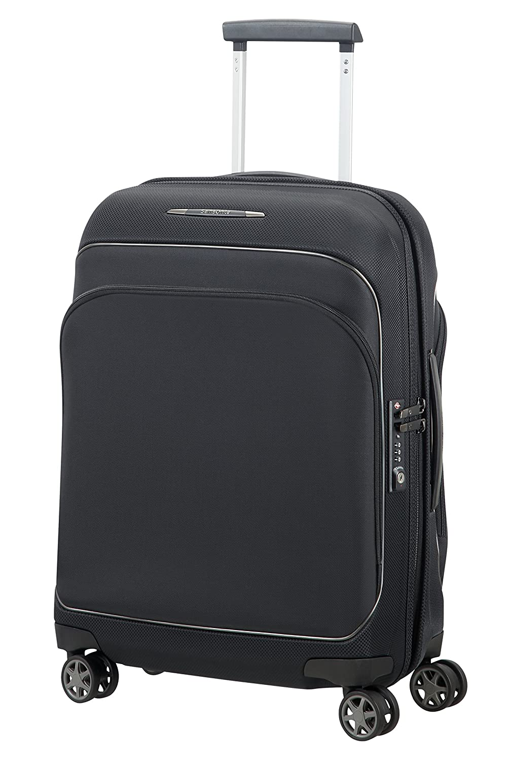SAMSONITE Fuze - Spinner 55/20 Equipaje de Mano, 55 cm, 35 Liters, Negro (Black): Amazon.es: Equipaje