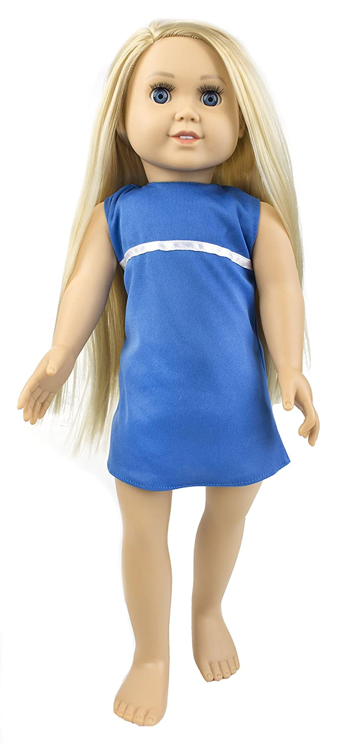 "autentico en linea Springfield Collection Pre-Stuffed Doll 18""-Abby - Blonde Blonde Blonde Hair  Blue Eyes  exclusivo"