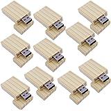 10 Pezzi bambù Stile Chiavetta USB 8GB Eco PenDrive Vendita all'ingrosso