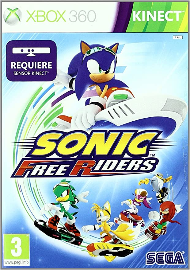 Sonic Free Riders - Kinect: Amazon.es: Videojuegos