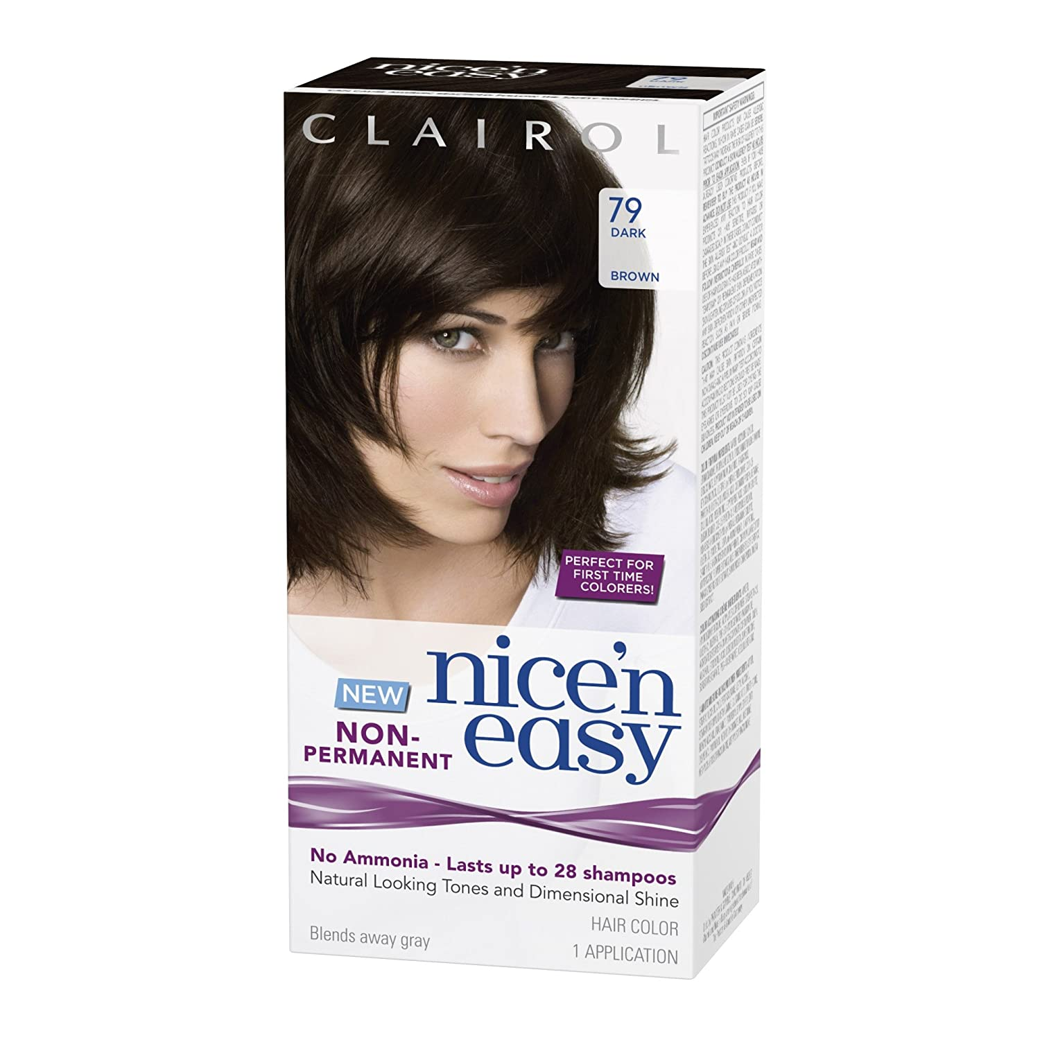 Amazon Clairol Nice N Easy Non Permanent Hair Color 79 Dark