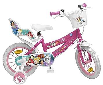 Pik & Roll Princesa Bicicleta niña, Rosa: Amazon.es: Deportes y ...