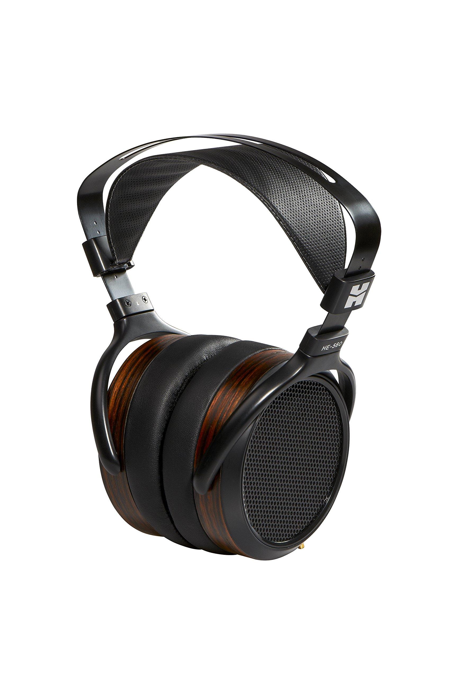 Hifiman HE-560 Full-Size Planar Magnetic Over-Ear Headphones (Black/Woodgrain) by HIFIMAN