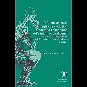 Diferencias entre las reglas de exclusión probatoria colombiana e internacional penal. Análisis en tres casos de…