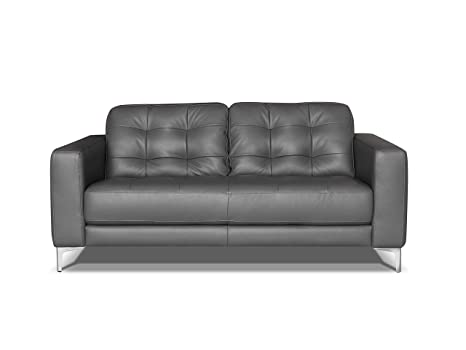 Brilliant Alkove Holt Leather Sofa 2 Seater Grey Ocoug Best Dining Table And Chair Ideas Images Ocougorg