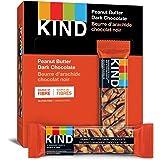 KIND Bars, Peanut Butter Dark Chocolate, Gluten Free, 40 Grams, 12 Count