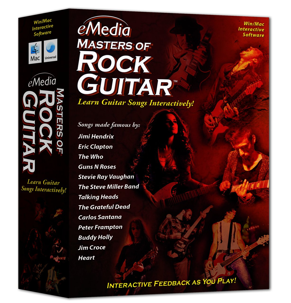 Amazon Emedia Masters Of Rock Guitar Emedia Software