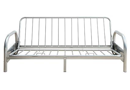 ComfortScape Adjustable Metal Sofa Frame For Futon Mattresses, Queen