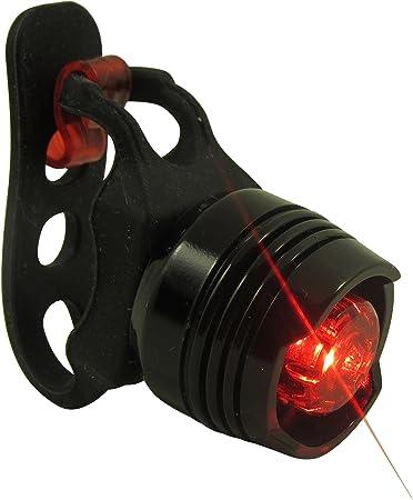 LED bicicleta-reflector//faro trasero luz trasera bicicleta luz trasera baterías ciclomotor