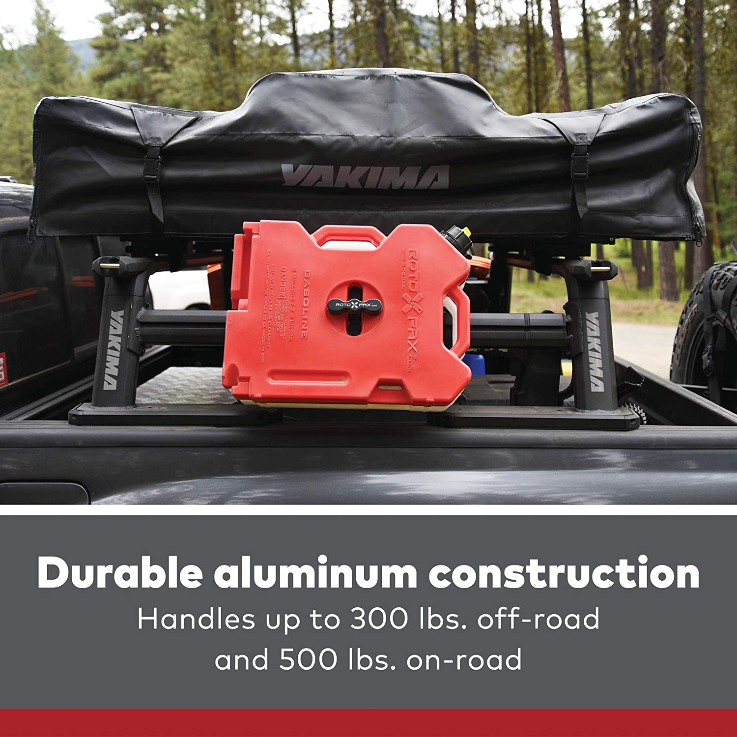 YAKIMA Outpost HD Mid-Height Heavy Duty Truck Bed Rack
