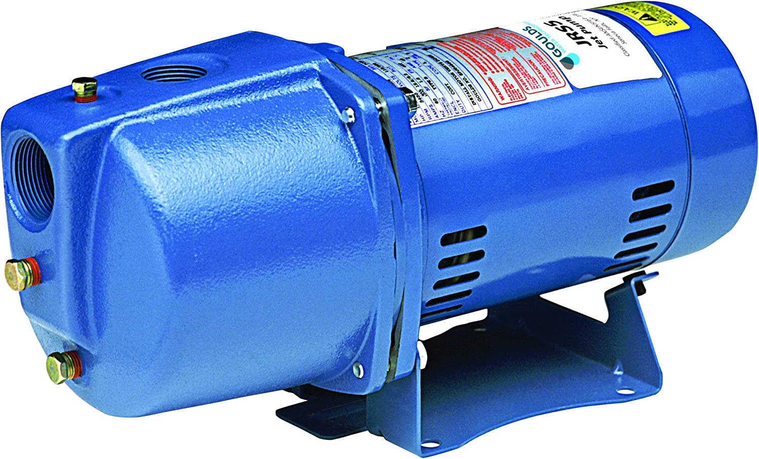 Goulds JRS10 Shallow Water Well Jet Pump, 1 HP, Single Phase, 115/230 V