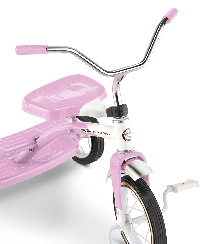 Roadmaster Dual Deck Tricycle Pink