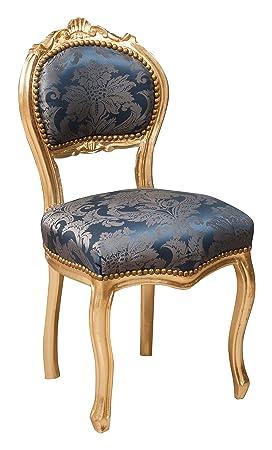 Sillón de estilo francés Luis XVI en madera maciza de haya ...