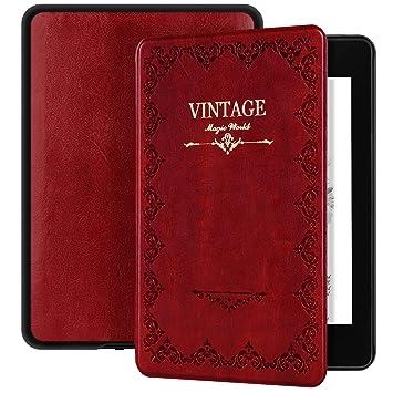 Ayotu Funda Magic Book Series para Kindle Paperwhite (10.ª generación - Modelo de 2018)-Funda Inteligente de Cuero de PU con activación/suspensión ...