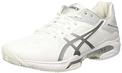 new arrival 99974 ef401 ASICS Gel-Solution Speed 3 Clay, Chaussures de Tennis Homme, Blanc Cassé (
