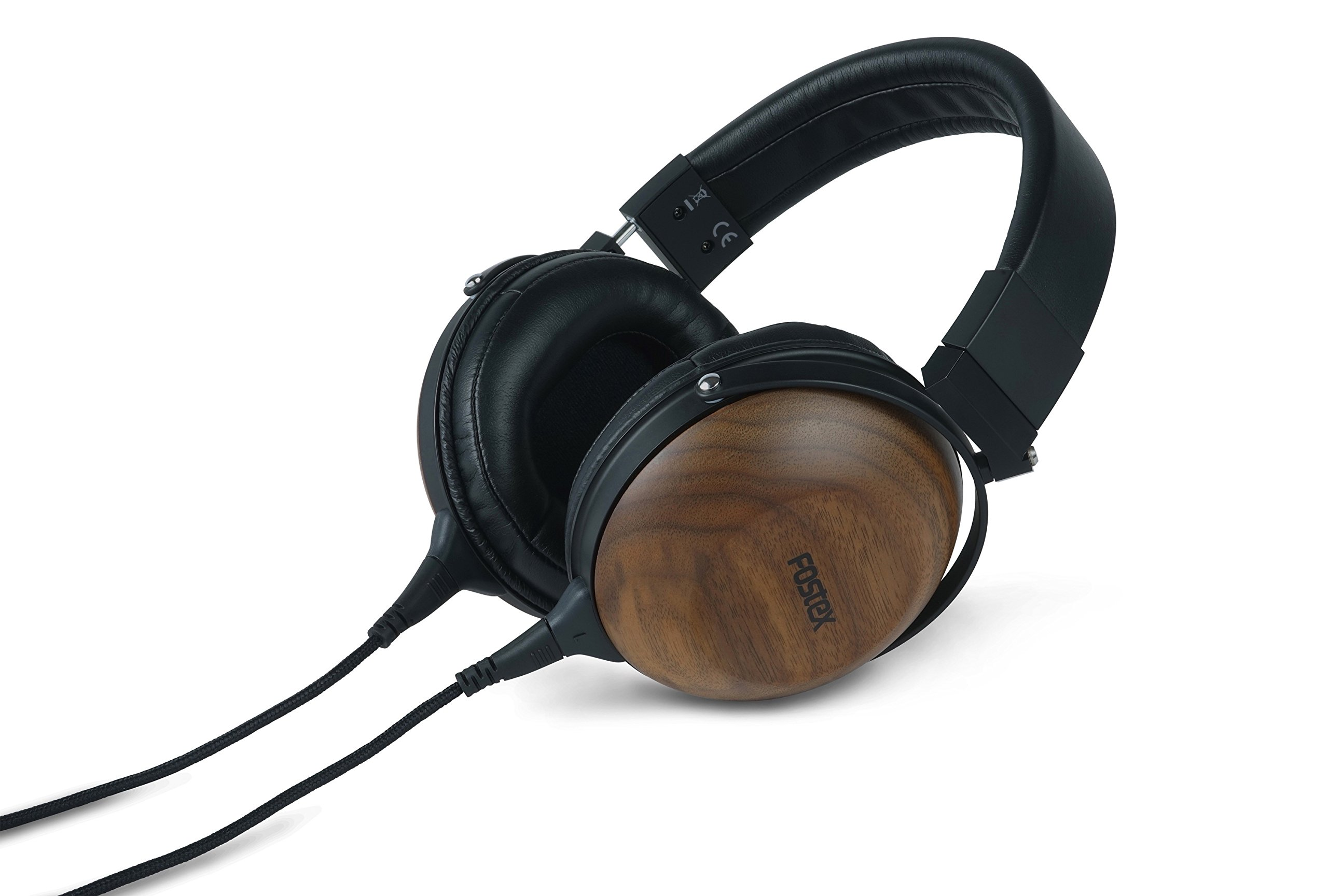 Fostex TH610 Premium Stereo Headphones with Tesla Magnetic Circuit, Black/Walnut