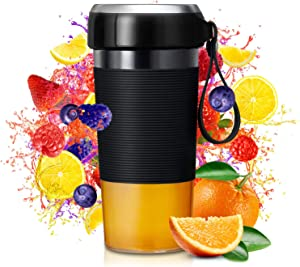 Smoothie Blender, Portable Blender with Magnetic Charging, Blender for Shakes and Smoothies with 301 Stainless Steel Blade, BPA Free, 12oz for Home, Office, Sports, Travel, Outdoors