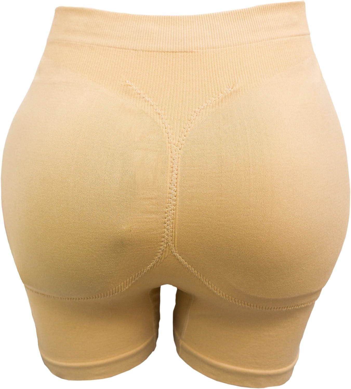 CeesyJuly Donna Guaina Modellante Contenitiva Mutande Imbottite Slip Push Up Glutei Boxer