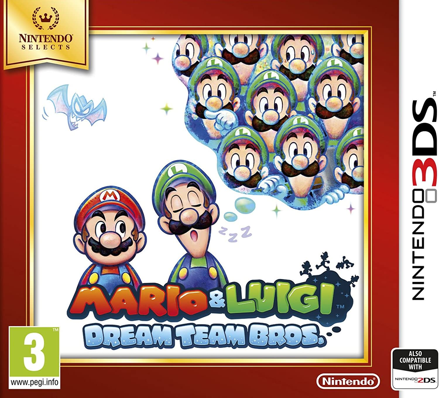 Mario & Luigi: Dream Team Bros. (Nintendo Selects): Amazon.es ...