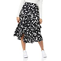 Cooper St Women's Wild CAT WRAP Skirt, Print
