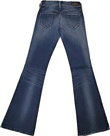 Diesel damskie dżinsy spodnie Livier-Flare Super Slim-Flare Low Waist Women dżinsy RI806 stretch: Odzież