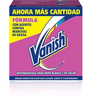 Vanish Quitamanchas Polvo Oxi Action Crystal White ...