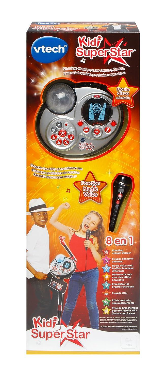 Hasbro Vtech Kidi Superstar 178565 Nero