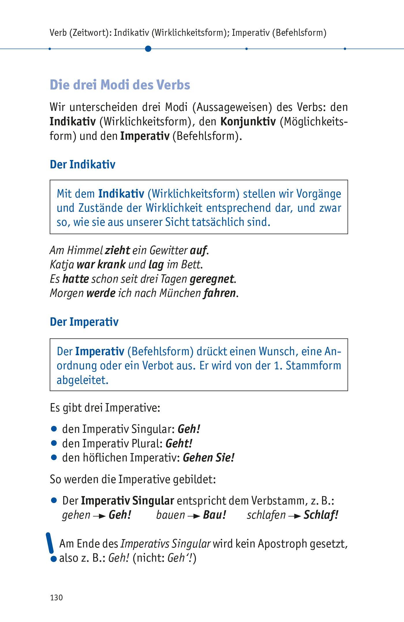 Pons Deutsche Grammatik Und Rechtschreibung Alle Wichtigen Regeln