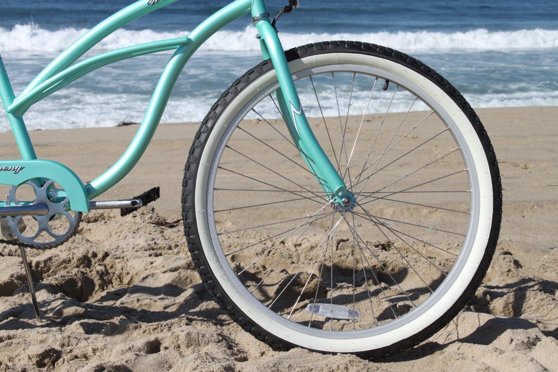 Firmstrong Urban Lady Single Speed Womens 26 Beach Cruiser Bike Mint Green