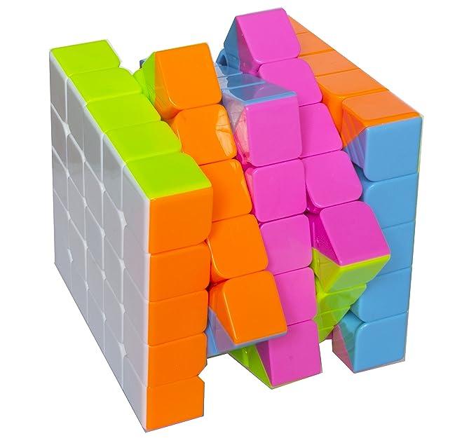 Cubo de Rubik Mágico 5x5 Wisdom Dificultad 4 Sin pegatinas ...
