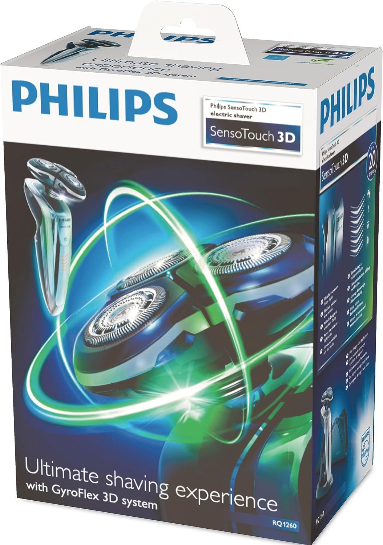 Philips SHAVER 9000 SensoTouch 3D - Afeitadora (Batería, Ión de ...