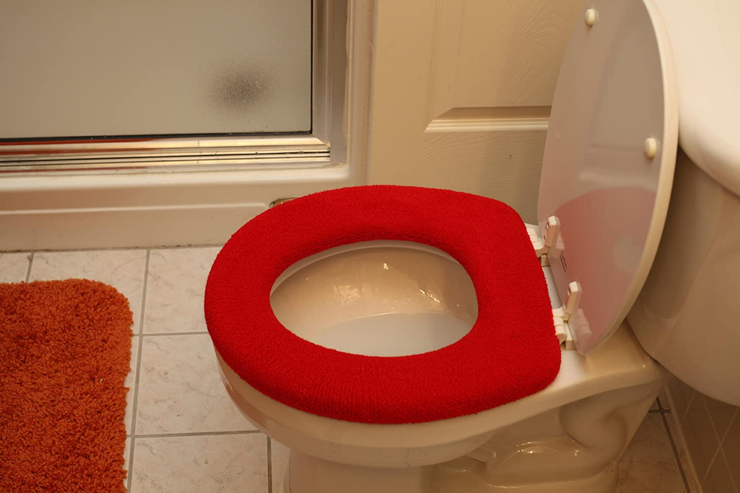 Com Toilet Seat Covers Red Home Kitchen
