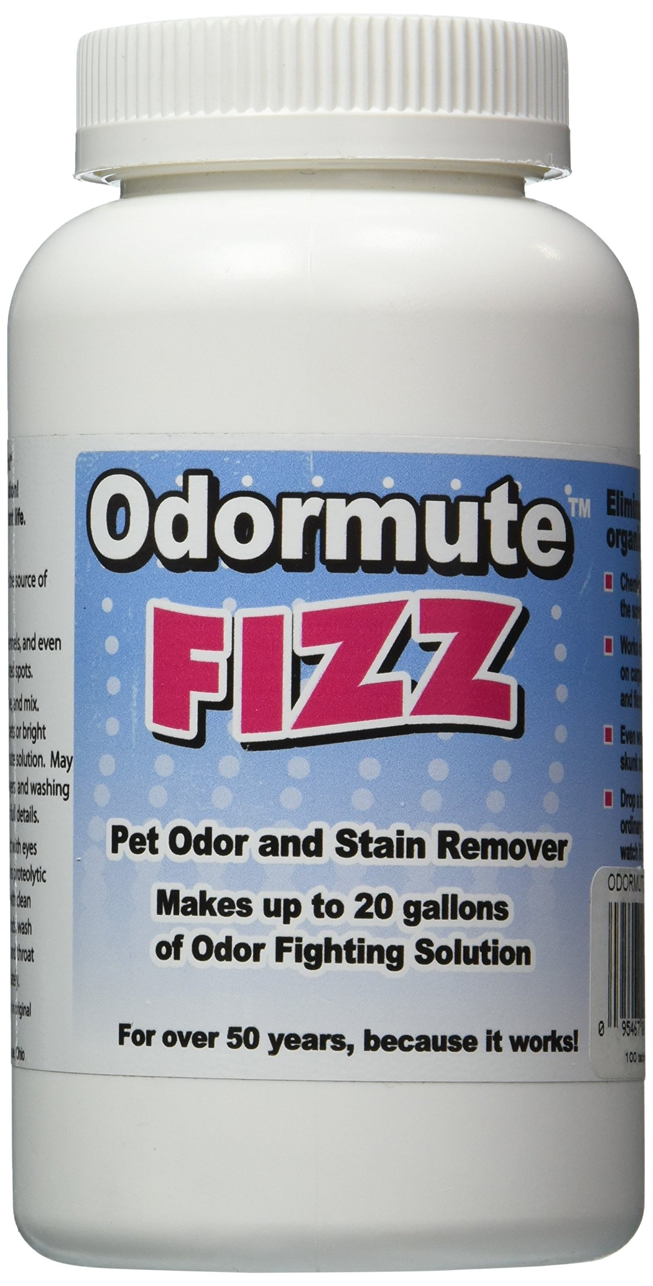Hueter Toledo Odormute Fizz! 100 Bottle, 20 gal