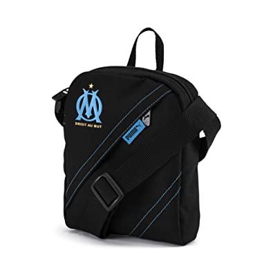 64f0485133 PUMA Sac à bandoulière Olympique de Marseille City Puma Black-AZURE BLUE UA