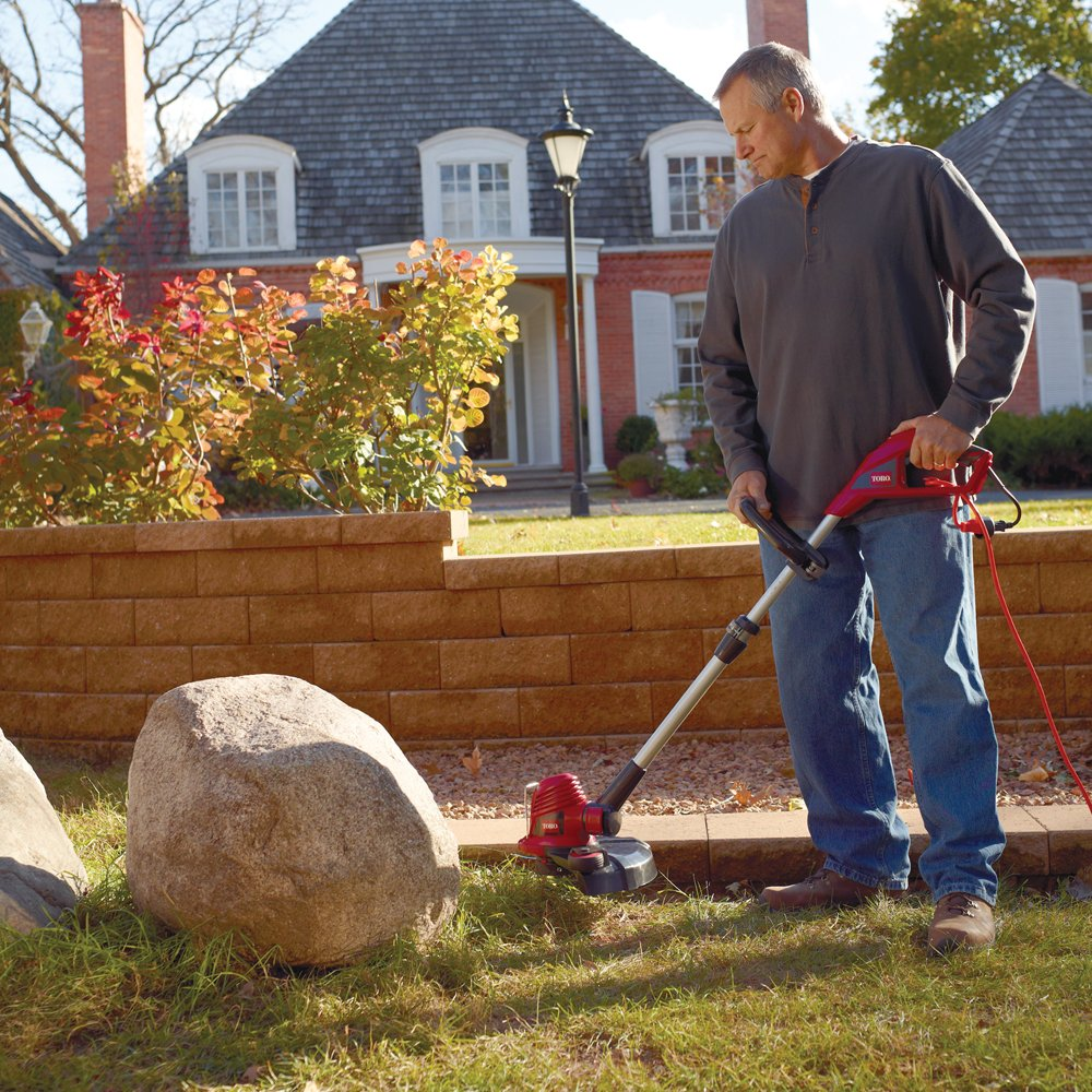 Amazon.com : Toro 51480 Corded 14-Inch Electric Trimmer/Edger ...