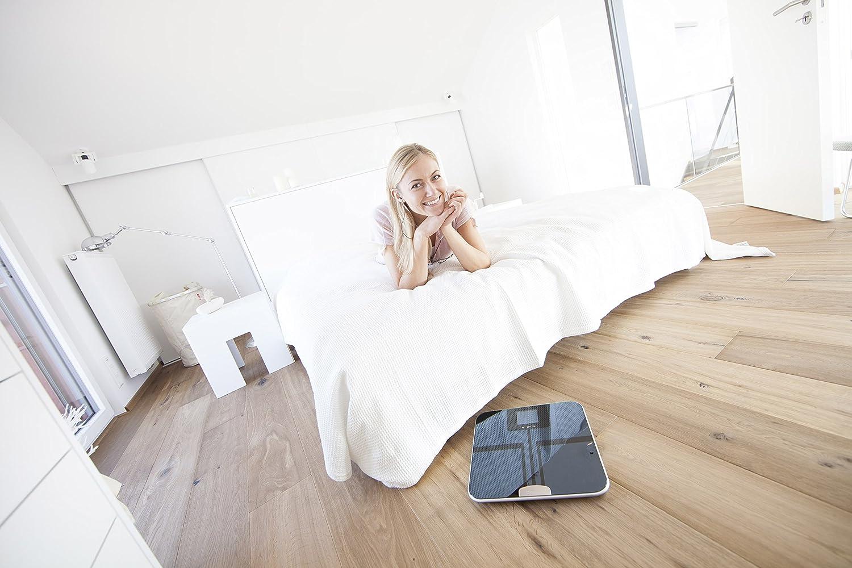 Beurer BF750 - Báscula de baño (LCD, Azul, 33 cm, 32 cm, 2,3 cm, AAA): Amazon.es: Salud y cuidado personal