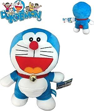 Doraemon Felpa Peluche Gato Robot Quien ríe Boca Abierta 20cm ...
