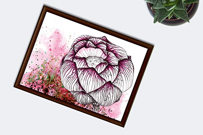 Pink Lotus Flower Home Decor Spiritual Gifts Amazoncouk Handmade