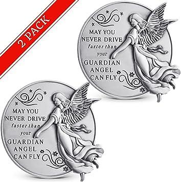 2-1//2-Inch AngelStar 15683 Son Guardian Angel Visor Clip Accent