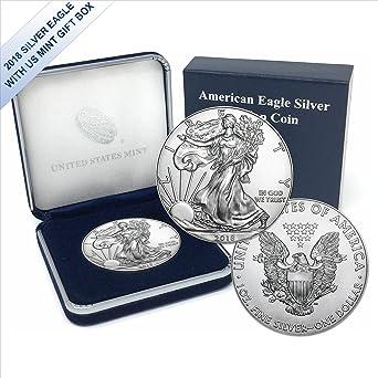 2006 $1 American Silver Eagles BU In US Mint Gift Box