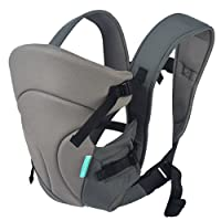 HarnnHalo Breathable 3 in 1 Baby Carrier 11 Grey