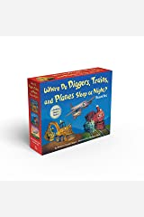 Where Do Diggers, Trains, and Planes Sleep at Night? Board Book Boxed Set Board book