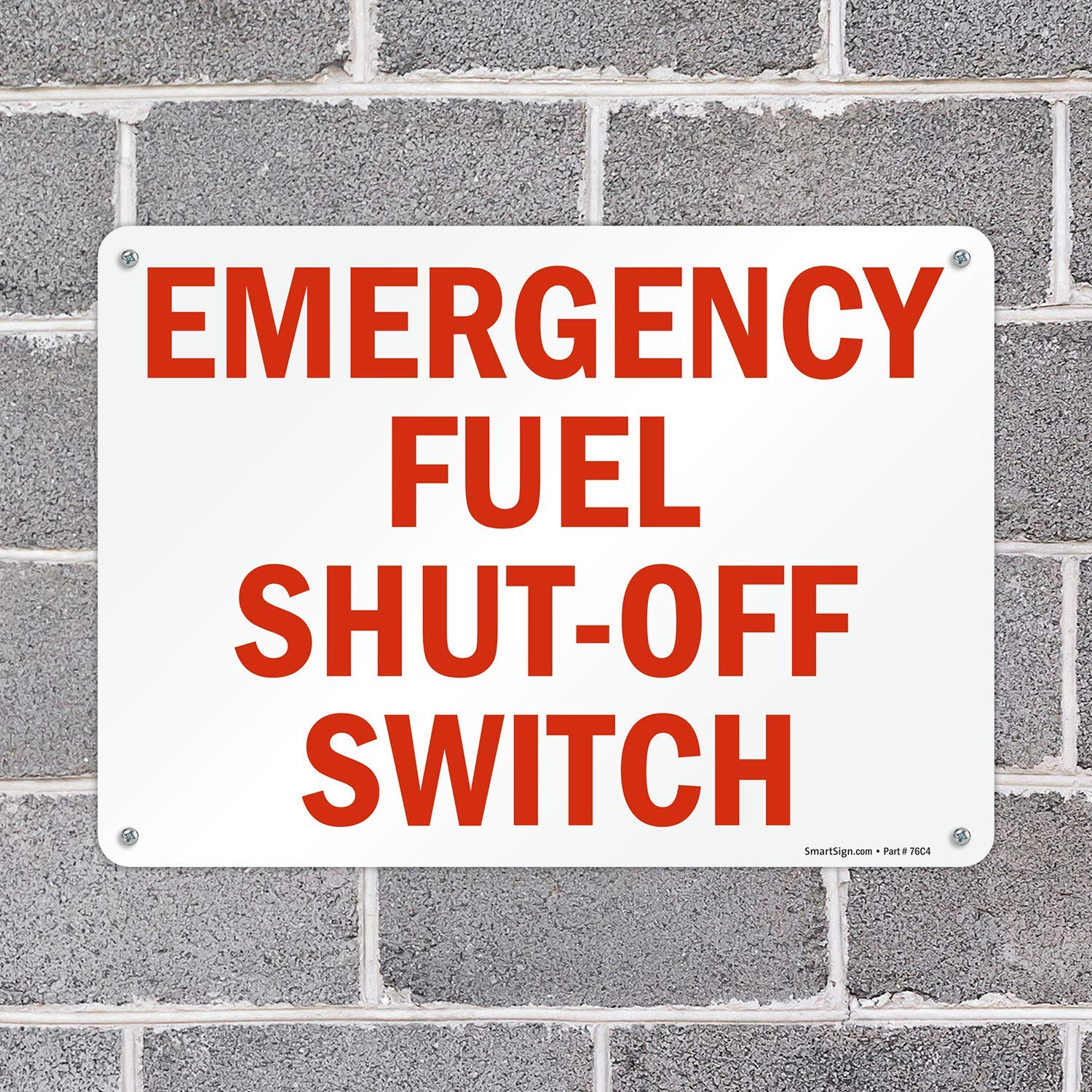 Fire Petrol Pumps Switch Off Here Sticker Safety Sign Red 148 x 120mm
