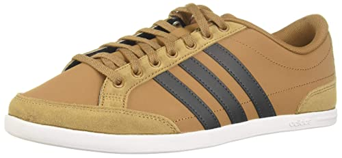 Sustancial Aparte Descortés  Buy adidas Men's Caflaire Leather Tennis Shoes at Amazon.in