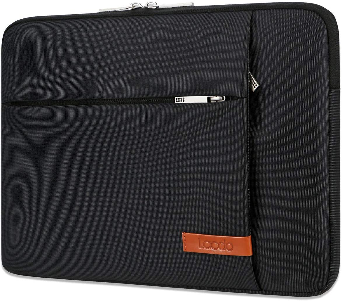 Lacdo 11 Inch Laptop Sleeve Chromebook Case for MacBook Air 11.6-inch, Surface Pro X 7 6 5, 11.6